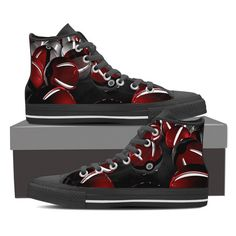 """Pokemon Shoes-Women's High Top-""""Don't wait more and catch your Pokemon Shoes"""