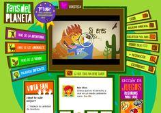 Rox et Leo nous aide à mieux comprendre comment on peut aider notre environnement. Il s'agit d'un site interactif mexicain qui traite de l'environnement en général, des animaux en voie d'extinction, ... Bref c'est un régal! Vous avez également des jeux,...