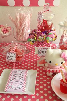 "Photo 11 of 22: Hello Kitty / Birthday ""Hello Kitty Party for Bianca"" 