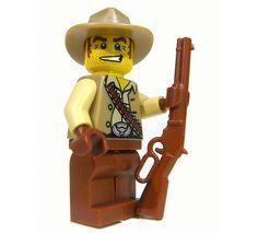 BrickArms Lever Actino Rifle LAR LEGO Minifigure Weapon