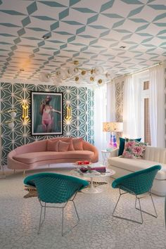 Living-dining room by Miriam Alía Mateo in Casa Decor 2017 Decoration Inspiration, Interior Design Inspiration, Home Interior Design, Interior Decorating, Interior Modern, Decorating Blogs, Room Interior, Decor Ideas, Casa Decor 2017