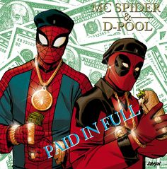 Marvel Is Crossing Over Hip-Hop Albums And Comics In These Incredible Variant Covers