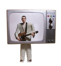 David Byrne as a talking head 2009 by Mike Leavitt      2009  as a talking head.