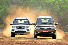 The improved Tata Safari takes on its old foe, the Mahindra Scorpio. Blur Image Background, Desktop Background Pictures, Blur Background Photography, Car Backgrounds, Black Background Images, Mahindra Scorpio Car, Scorpio Images, Mahindra Cars, Car Photos Hd