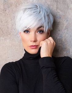 Short Sassy Haircuts, Haircuts For Fine Hair, Cute Hairstyles For Short Hair, Short Hair Cuts For Women, Blonde Pixie Hairstyles, Short Hair For Girls, Short Pixie Cuts, Cute Pixie Haircuts, Short Blonde Pixie
