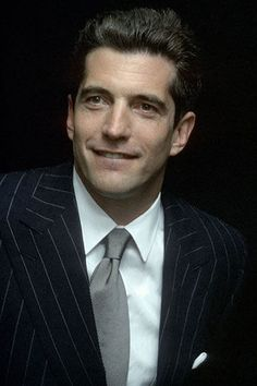 JFK jr I always thought he was a tremendous man, classy...may he be reunited with all his loved ones up there :)