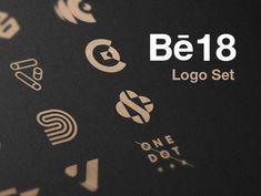 """""""Monogram & logos 2018"""" https://www.behance.net/gallery/62353233/Monogram-logos-2018"""