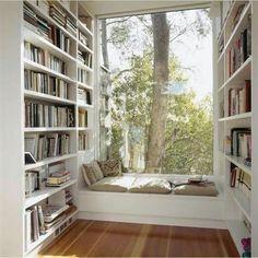 La mejor idea para el final de un pasillo siempre es una ventana