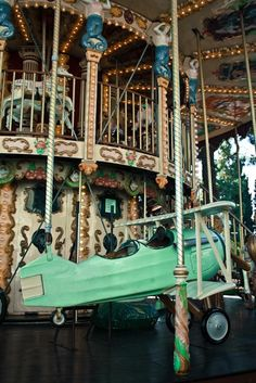 Carousel in Nice - Carnival- Whimsical - 8x10 Fine Art Photograph. $30.00, via Etsy.