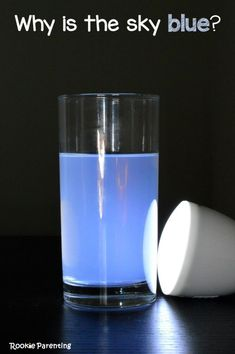 Why Is The Sky Blue? Science Experiment