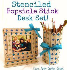 Popsicle Sticks DIY