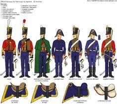 Titre de l'image 4ème Régiment de Hussards