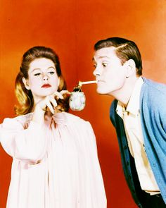 Elizabeth Montgomery and Dick York for Bewitched (1964 - 1972)