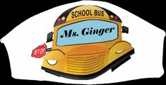 Bus Driver Gifts, School Bus Driver, Bus Safety, Back To School List, Photo Face Masks, She Mask, Cat Face Mask, Kind Words, School Days