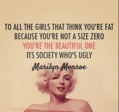 Maralyn Monroe.