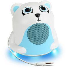 Accessory Power GG-PAL-JRPOLAR GOgroove Groove Pal Jr. Portable Media Speaker, Polar