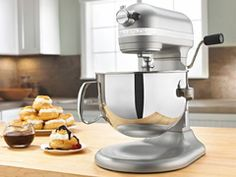 There are many mixers available on the market that perform well, but most of them fail when it comes to working with denser and heavier mixtures. In our quest for a powerful stand mixer we came across the KitchenAid pro mixer http://onthegas.org/small-appliances/kitchen-aid-6-qt-mixer  #smallkitchenappliances #onthegas #Onthegas