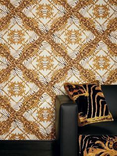 Versace 2 Home Wallpaper 962163 Beige Baroque Papier Peint Nappes Papier Peint Design Papier Peint