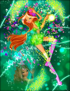 winx club transformations | Tumblr