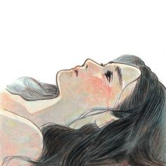 Uploaded by Marina B. Find images and videos about girl, art and illustration on We Heart It - the app to get lost in what you love. Art Anime Fille, Anime Art Girl, Aesthetic Art, Aesthetic Anime, Art Triste, Cover Wattpad, Illustration Art Nouveau, Arte Obscura, Sad Art