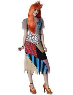 Disfraz de Muñeca Sally para Mujer | Comprar Online