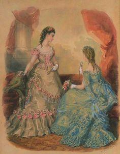 La Mode Illustrée, 1871 - Fripperies and Fobs