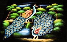 CeyPearl.com - Peacock Couple in the Woods, $45.68 (http://www.ceypearl.com/peacock-couple-in-the-woods/)