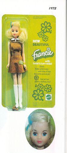1972 New Beautiful Francie #8520 (Germany)