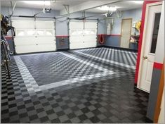 The garage flooring epoxy will be more secure if it is regularly cleaned. Due to the fact that if it's not consistently cleansed it will be slippery and unclean. Garage Floor Tiles, Epoxy Floor, Bathroom Floor Tiles, Tile Floor, Garage Transformation, Solar Panel Installation, Solar Panels, Flooring Options, Flower Doodles