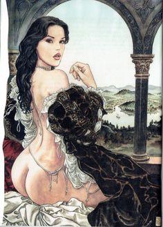 Manara Maestro dell'Eros-Vol. 19, La Parola alla Giuria-8