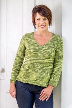 Portland Top-Down Pullover by Basix Knitting Knit Cardigan, Pullover Sweaters, Men Sweater, Cardigans, Plus Size Sweaters, Stockinette, Knitting Patterns, Knitting Projects, Knit Patterns