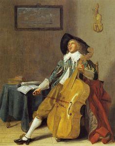 Dirck Hals: The Solo (c. 1630)