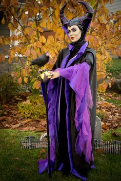 Maleficent costume Halloween 2013; amazing dress up by a friend!