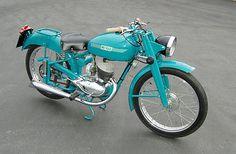 Other Makes : Mi-Val 125 T2 1952 1952 Mi-Val 125cc Made in Italy like: Benelli, Moto Guzzi, Ducati Bevel, MV