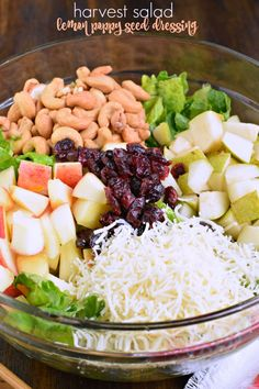 12676 best weeknight meal ideas images on pinterest in 2018 chef harvest salad lemon poppy seed dressing recipe forumfinder Choice Image