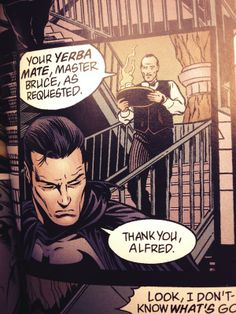 Yerba mate does turn you into a superhero! Just ask Batman. (Thanks Jason Lindley!)
