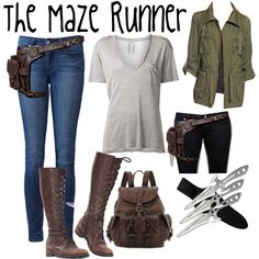 """""""The Maze Runner"""" by always77 on Polyvore"""