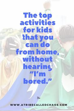 The top activities for kids that you can do from home #Activities #Kids #HomeActivities Toddler Preschool, Toddler Crafts, Diy Crafts For Kids, Outdoor Activities For Kids, Home Activities, Motor Activities, Local Gym, Time Kids, Im Bored