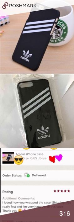 Adidas iPhone 7 case Cute black adidas hard case for iPhone 7 ,,,new.  4 available Adidas Accessories Phone Cases