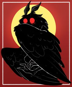 """wankadoodles: """" mothman to go with the Flatwoods Monster i did ! considerin makin an entire series of cryptids like this ! Character Inspiration, Character Art, Character Design, Kunst Inspo, Art Inspo, Fantasy Kunst, Fantasy Art, Fantasy Creatures, Mythical Creatures"""