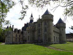 Château de Rouville à Malesherbes - Loiret