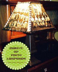 IVY LANE DESIGNS: Make It: DIY Photo Lampshade
