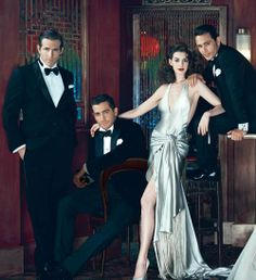 Ryan Reynolds, Jake Gyllenhaal, Anne Hathaway & James Franco - Vanity Fair (February 2011)
