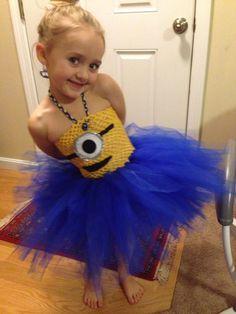 Despicable Me Minion tutu dress by BeyondFabowlous on Etsy, $39.50