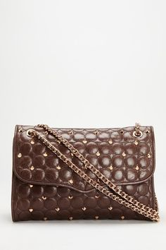 "Rebecca Minkoff ""Large Affair Shoulder Bag"" in Mocha."