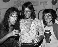 Alice Cooper, Ray Manzerek and Iggy Pop. Ray and Iggy had the same manager, Danny Sugerman. Iggy Pop, Alice Cooper, The Velvet Underground, Patti Smith, Classic Rock And Roll, Rock N Roll, David Bowie, James Williamson, Les Doors