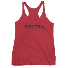 *Tacos & Tequila* Women's Tank Top