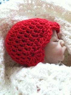 Newborn Baby Crochet Hat Baby Hat Child Hat by LakeviewCottageKids, $22.00