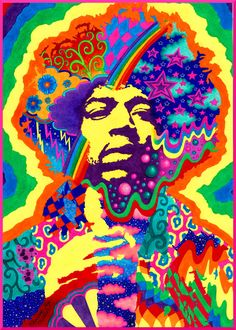Jimi Hendrix by kine80.deviantart.com on @deviantART