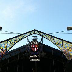Marché couvert La Boqueria sur La Rambla #Barcelona #Barcelone #LaBoqueria